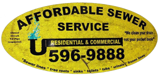 Affordable Sewer Service Logo