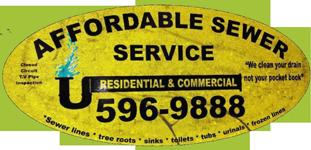 Affordable Sewer Service Logo